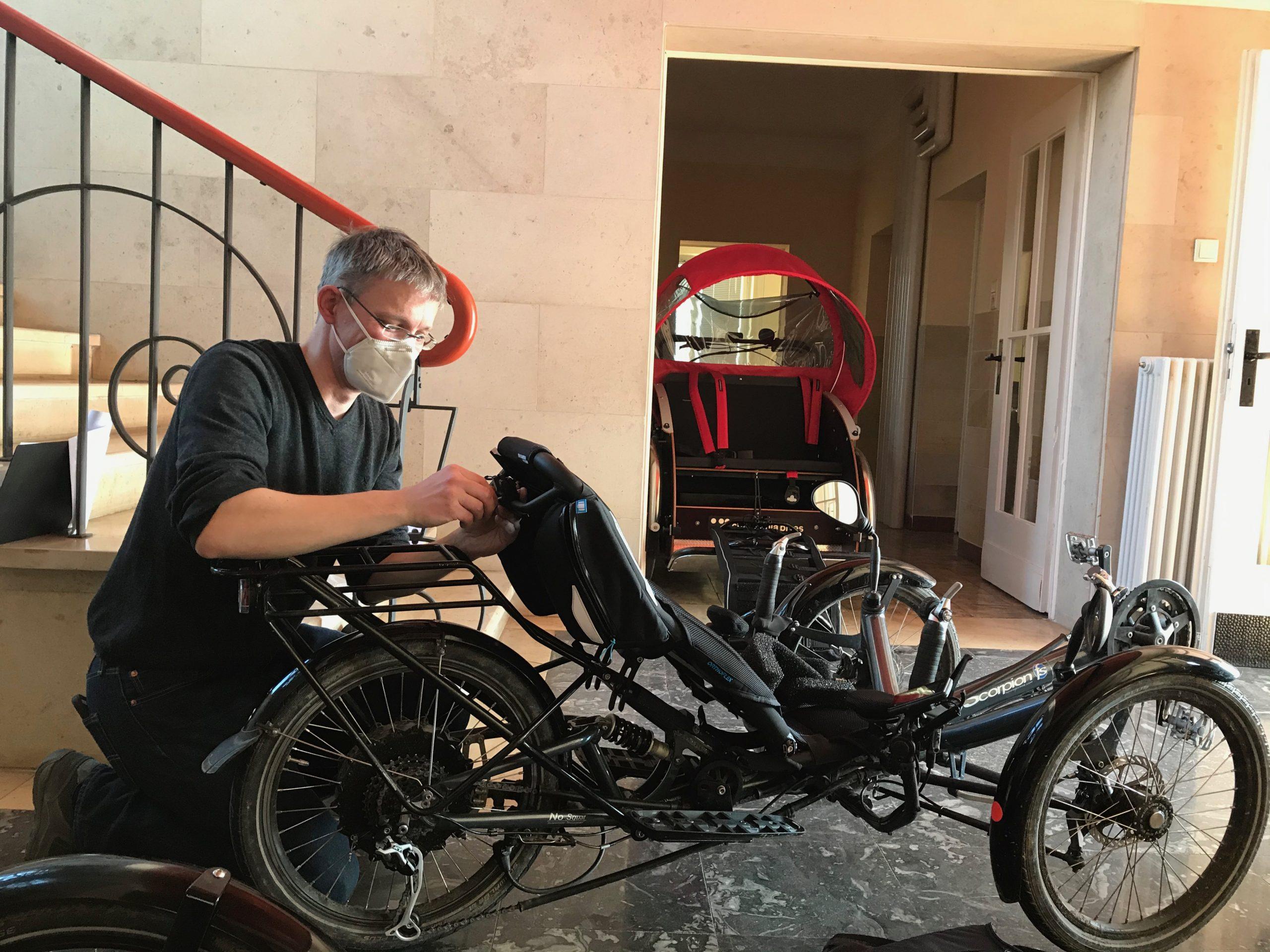 Liegerad Trike Spezialist Werkstatt